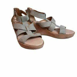 Dr. Scholls Sandals Wedge Heels 8.5 M EU 38.5